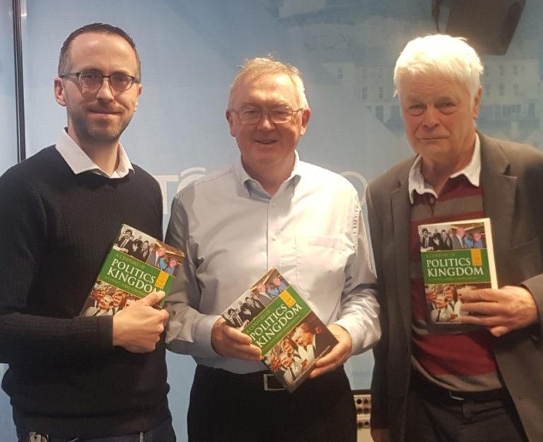 Authors Owen and Gordon with RTE's Sean O'Rourke